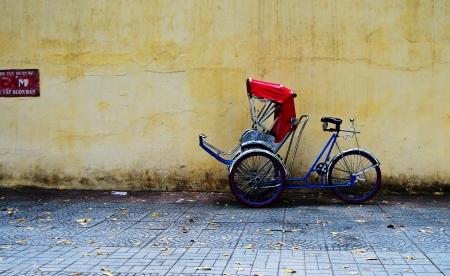 Rickshaw In Vietnam