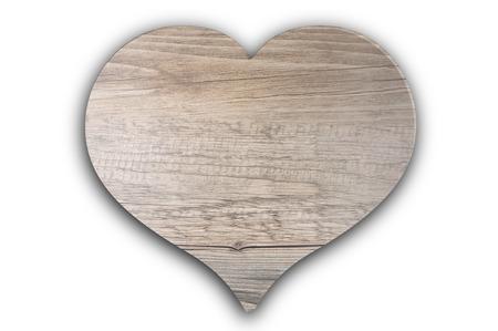 Photo pour Wooden heart - image libre de droit