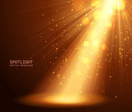 Ilustración de abstract spotlight background vector illustration - Imagen libre de derechos
