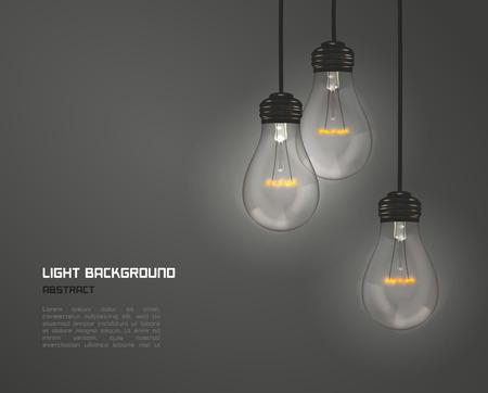 Illustration pour Creative design of nature lamps - image libre de droit