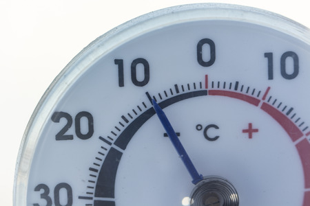 Detail indicator thermometer.