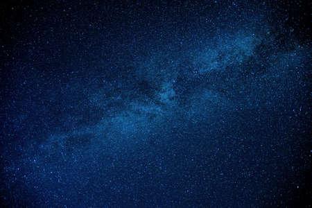 Photo pour View of the Milkey Way at night - image libre de droit