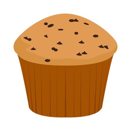 Ilustración de Isolated muffin icon - Imagen libre de derechos