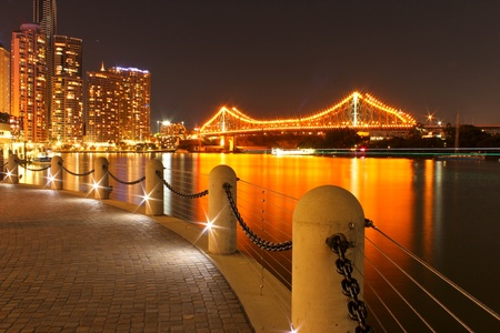 Story Bridge at night, Brisbane