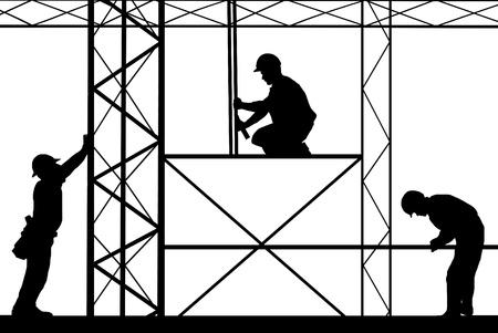 Illustration pour construction site illustration - image libre de droit