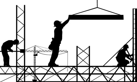 Photo for work site illustration - Royalty Free Image