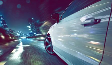 Photo for Car at Night - Royalty Free Image