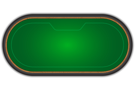 Poker table.