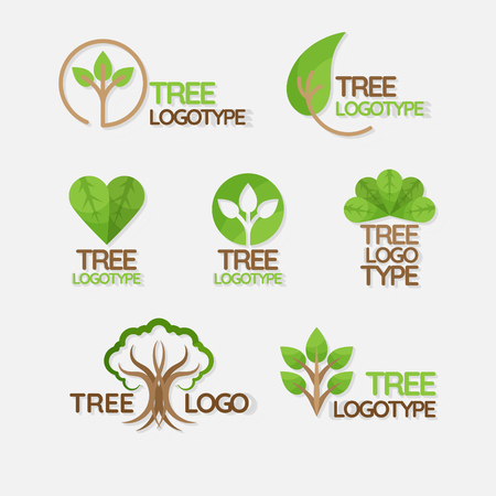 Illustration for Green Planet Ecology Icons - Royalty Free Image