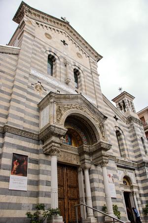 The church of our lady of the snow, Nostra Signora della Neve  at  La Spezia, Liguria,  Italy