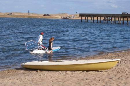 Lagoon Garzon, Uruguay