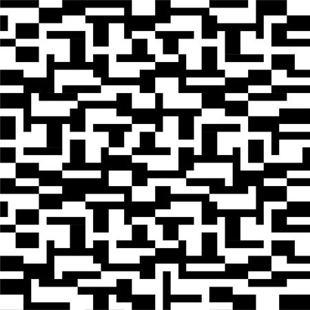 Abstract pattern in black and white