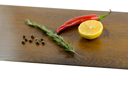 Fresh ingredients for home cooking