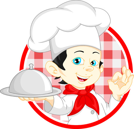boy chef cartoon