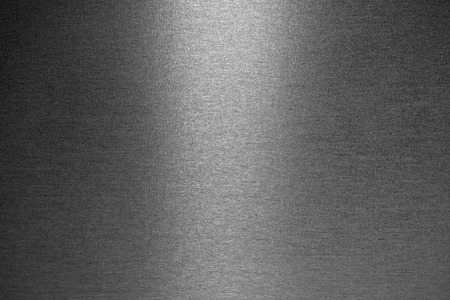 Photo for Smooth brushed metallic texture as a background - Royalty Free Image