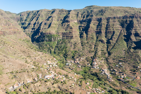 The Valle Gran Rey, the beautiful canyon on La Gomera