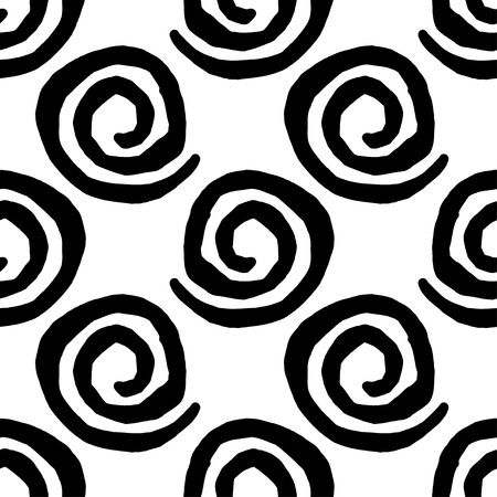 Seamless geometric pattern, Squiggles texture
