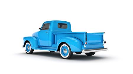 Foto de Pickup Truck. 3d render - Imagen libre de derechos