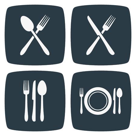 Cutlery Restaurant Icons