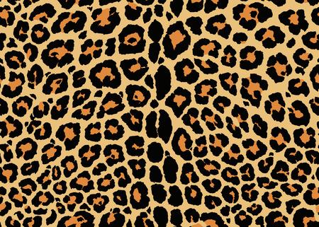 Photo pour Leopard pattern design. Seamless Leopard pattern design, vector illustration background. Fur animal skin design illustration for web, fashion, textile, print, and surface design - image libre de droit