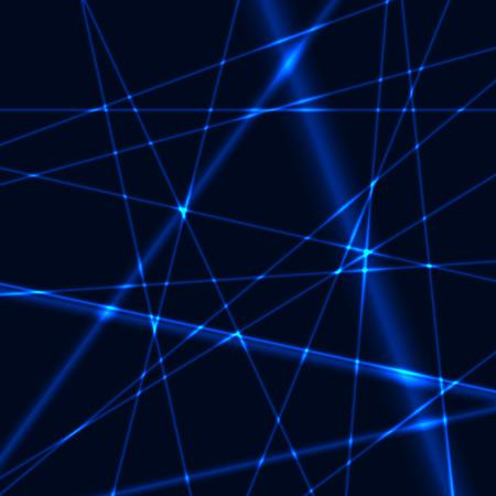 Blue laser grid or net background
