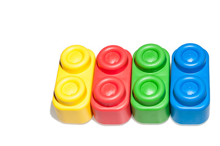 Plastic building blocks, istructive toy for children