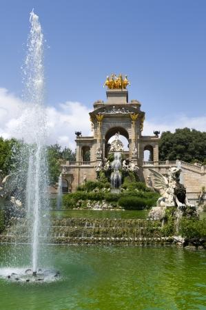 fountain monument Parc de la Ciutadella barcelona