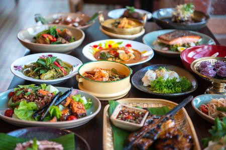 Thai foods.