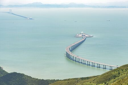 Photo for Hong Kong Zhuhai Macao Bridge - Royalty Free Image