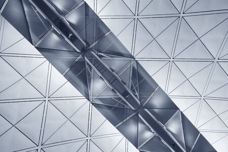 Photo for Modern building abstract background pattern - Royalty Free Image