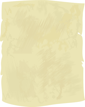Illustration for Grunge texture of parchment. Vector design grunge paper texture or background. - Royalty Free Image