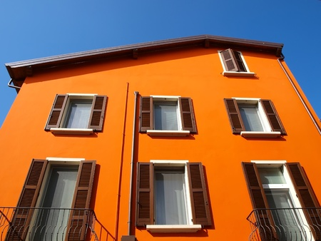 Foto de Orange house - Imagen libre de derechos