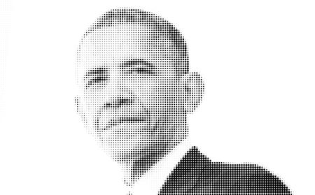 Foto de Barack Obama Artistic - Imagen libre de derechos