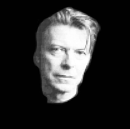 Foto de David Bowie Artistic Portrait - Imagen libre de derechos