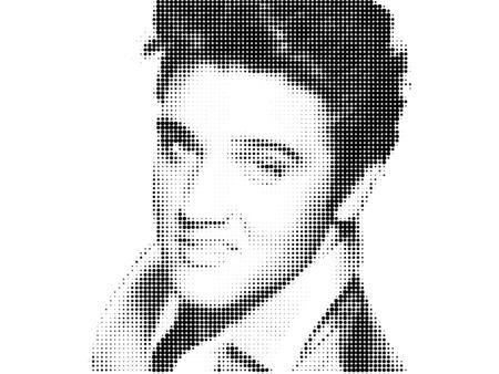Foto de Elvis Presley Artistic Portrait - Imagen libre de derechos