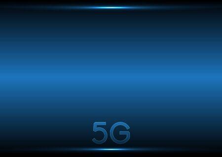 Illustration pour 5G technology abstract background - image libre de droit