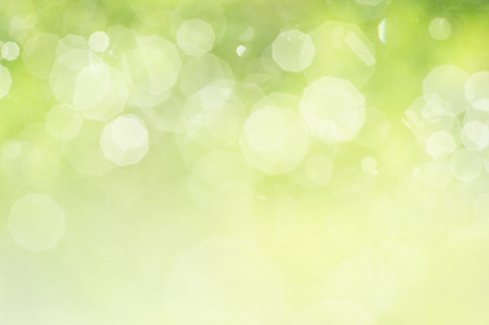 Photo pour Green bokeh abstract background - image libre de droit