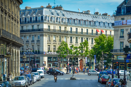 Paris, France, May 29, 2011  Some of the most luxurious shops are located on Rue de la Paix