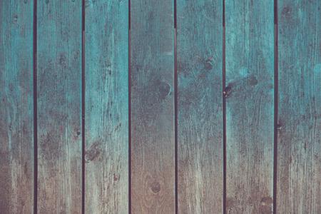 Photo pour Vintage grunge wooden planks. Toned background - image libre de droit