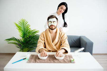 Guy having a massage