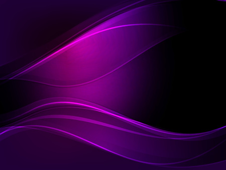 Ilustración de Abstract dark purple wave vector background. - Imagen libre de derechos