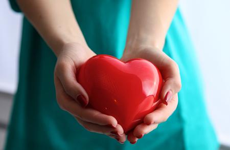 Photo pour Health insurance or love concept. - image libre de droit