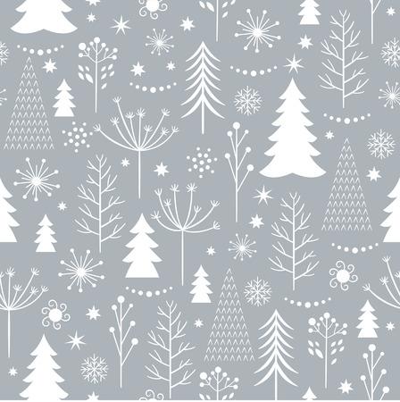 Illustration pour seamless winter pattern - image libre de droit