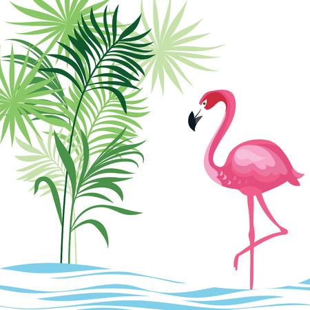 Ilustración de tropical illustration - Imagen libre de derechos