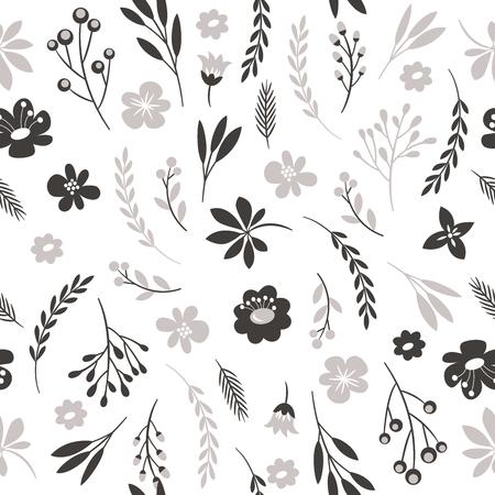 Illustration pour seamless floral pattern - image libre de droit