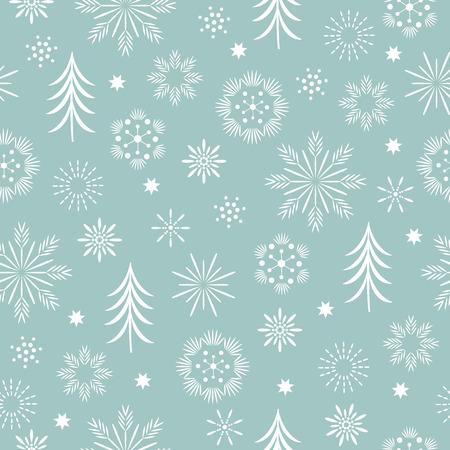 Illustration for seasons greetings, beautifil christmas background - Royalty Free Image