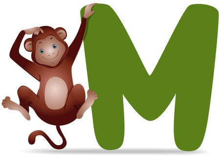 M for Monkey