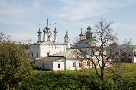 Church of Jesus' triumphal entry into Jerusalem, Suzdal, Russia