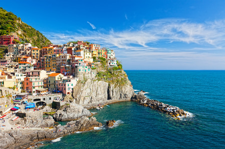 Manarola Village By The Sea