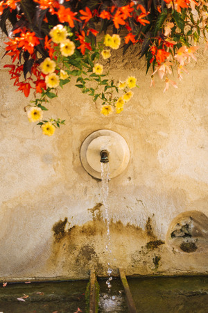Village Provence - water fountain